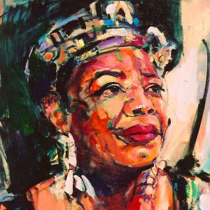 Maya Angelou (Photo credi: brunijazzart.com)
