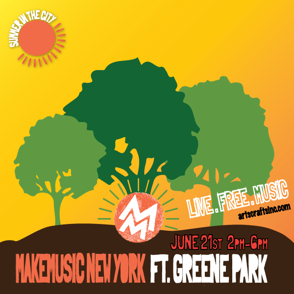 Summer In The City: Make Music NY @ Ft. Greene Park