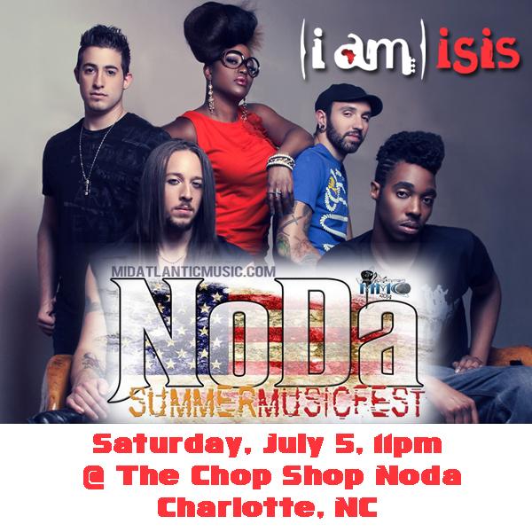 (i am) isis @ NoDa Summer Music Fest