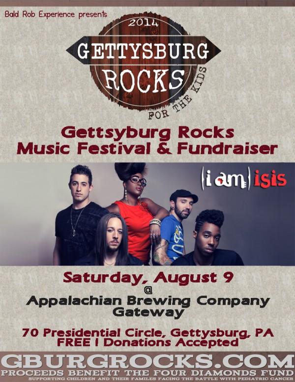 (i am) isis @ Gettysburg Rocks
