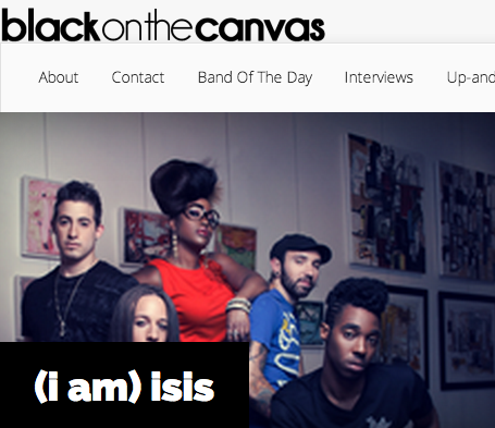 Black On the Canvas | (i am) isis